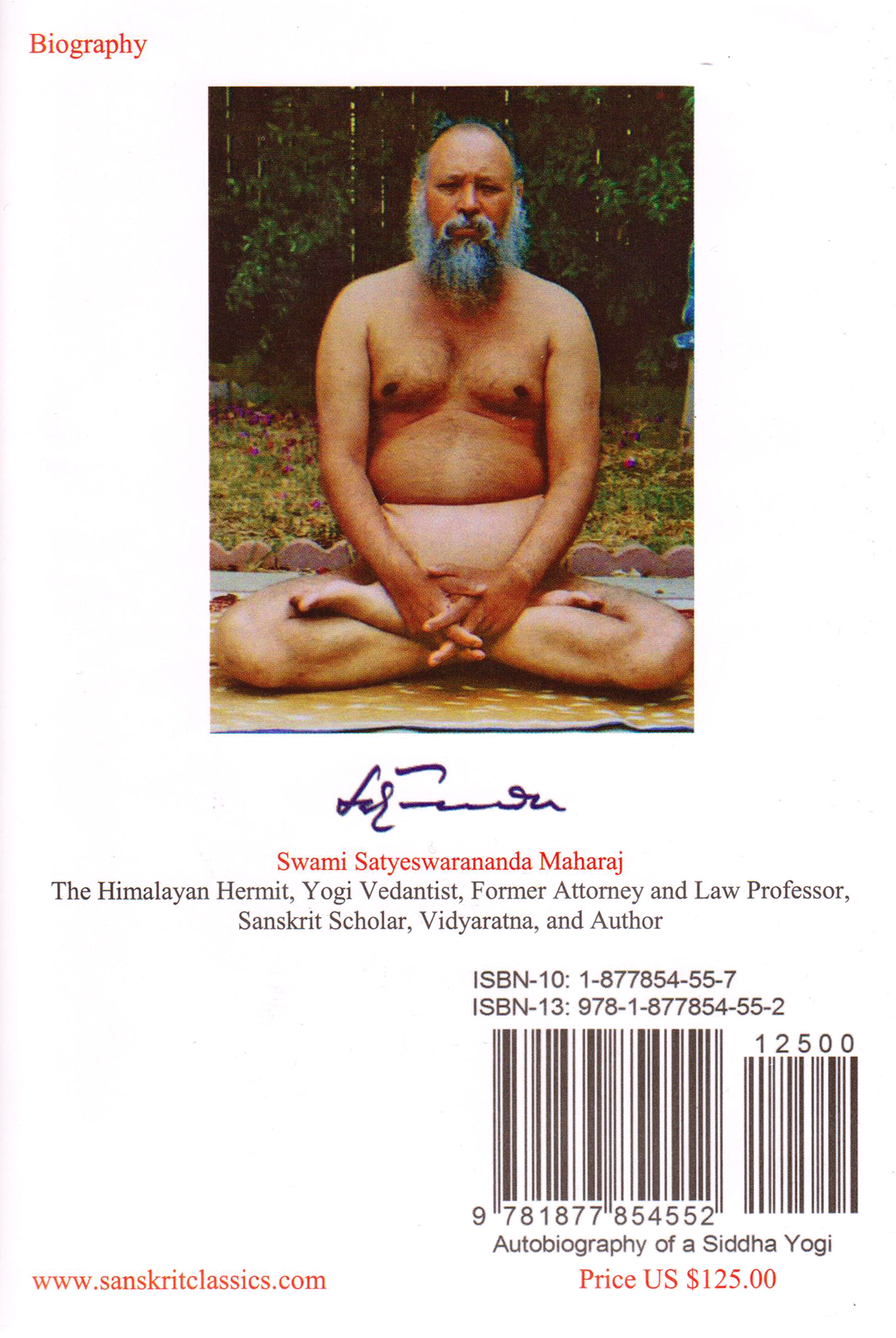 An Amazing Autobiography of A Siddha YOGI 1